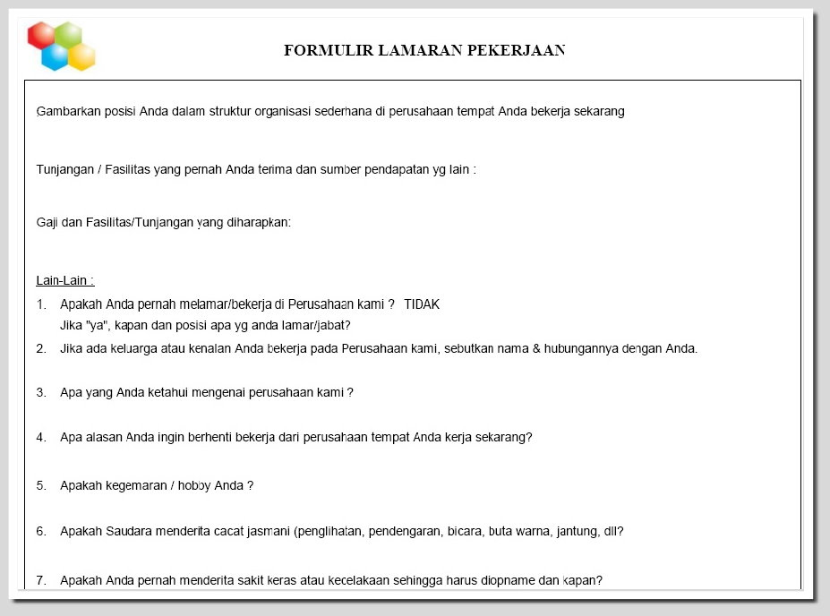 HR Payroll System Report Data Karyawan